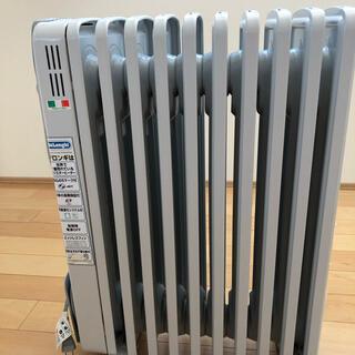 デロンギ(DeLonghi)の美品DeLonghi デロンギ RADIA R031015ECF オイルヒーター(オイルヒーター)
