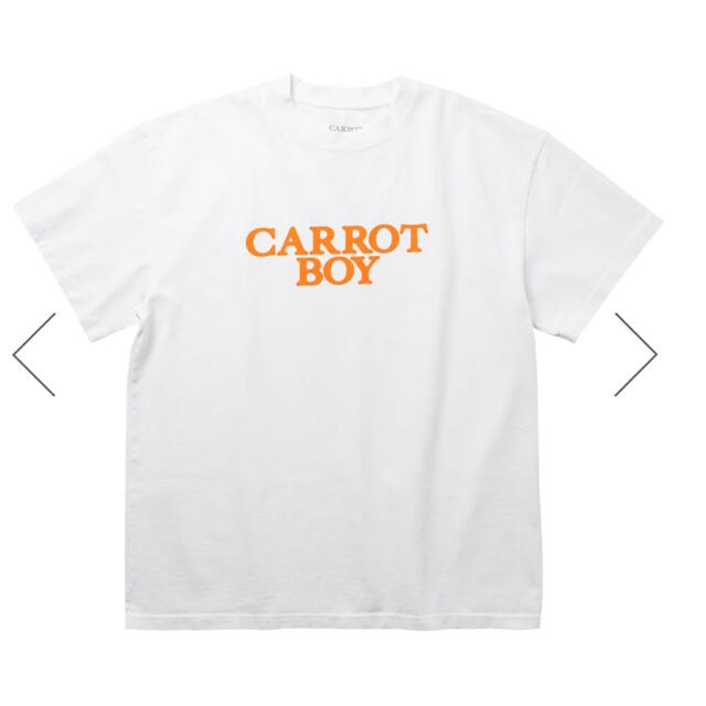 GDC(ジーディーシー)のCARROT BOY TEE× verdy  白 XL メンズのトップス(Tシャツ/カットソー(半袖/袖なし))の商品写真