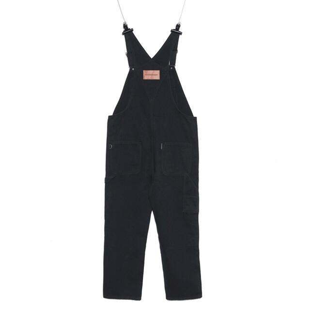 PEACEMINUSONE(ピースマイナスワン)のPMO DENIM OVERALL #1 BLACK メンズのパンツ(デニム/ジーンズ)の商品写真