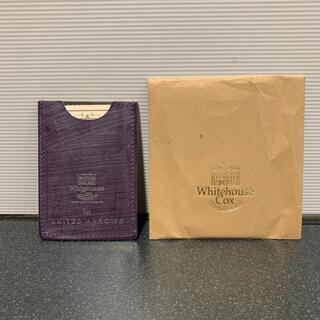 ホワイトハウスコックス(WHITEHOUSE COX)のホワイトハウスコックス  カードケース キーケース(名刺入れ/定期入れ)