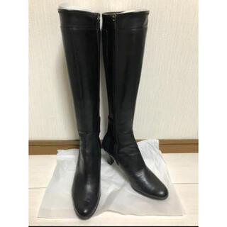 REGAL - 美品 リーガル 本革 ロングブーツ 黒 24.5cm