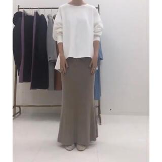 IENA - SLOBE IENA  ホールガーメントマーメイドニットスカート