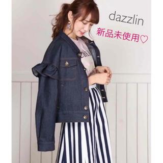 dazzlin - 【新品未使用】ダズリン♡GU♡ユニクロ♡evelyn♡デニム♡フリル♡Gジャン
