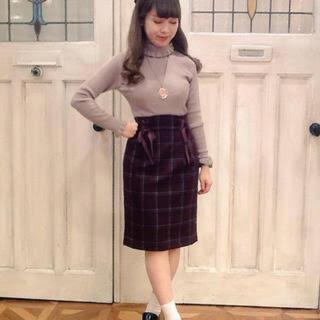 F i.n.t - ダブルレースアップタイトスカート