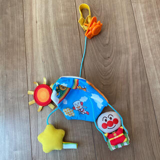 アンパンマン(アンパンマン)の値下げ⏬アンパンマンの吊り下げおもちゃ(ベビーカー用アクセサリー)