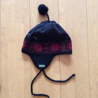 コロンビア(Columbia)のColumbia コロンビア/耳当て付きニット帽 キッズS(55~58cm位) (帽子)