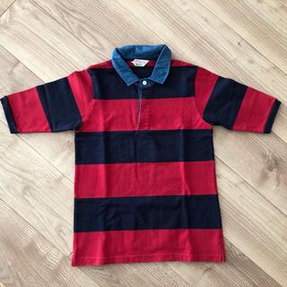 ロデオクラウンズ(RODEO CROWNS)のロデオクラウンズ 半袖 シャツ ボーダー(シャツ/ブラウス(半袖/袖なし))