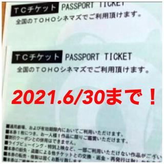 トウホウ(東邦)のTCチケット 2枚(その他)