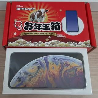 【ヨドバシ夢のお年玉箱2021】iPhoneXsMax silver 256GB(スマートフォン本体)