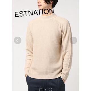 エストネーション(ESTNATION)の早い者勝ち‼︎エストネーション カシミヤ混コットンサーマルニット(ニット/セーター)