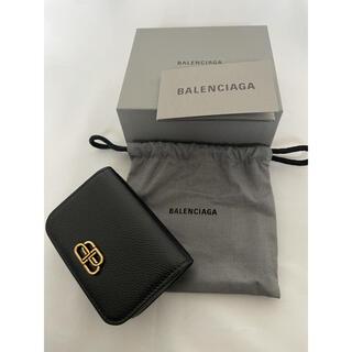 Balenciaga - 新品 BALENCIAGA  バレンシアガ BB ミニ ウォレット 折り財布