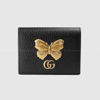Gucci - 希少!!【GUCCI】 GG バタフライ コンパクト ミニ財布