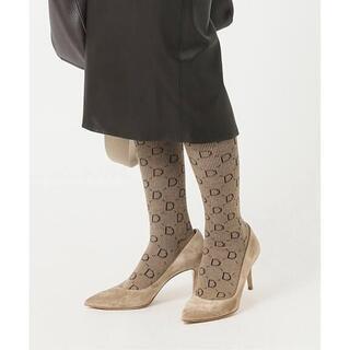 DEUXIEME CLASSE - 新品★jacquard socks ドゥーズィエムクラス ベージュ