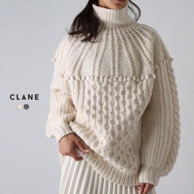 Ameri VINTAGE(アメリヴィンテージ)のCLANE クラネ ニット サイズ2 レディースのトップス(ニット/セーター)の商品写真