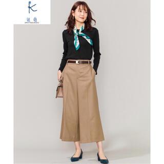 クミキョク(kumikyoku(組曲))のタグ付き セミワイドパンツ 1(キュロット)