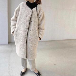 HYKE - mite boa coat