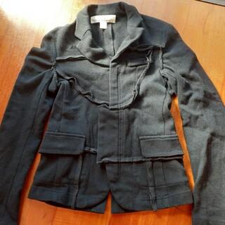 コムデギャルソン(COMME des GARCONS)の大バーゲン ギャルソン×H&Mコラボ紺色ジャケット(テーラードジャケット)