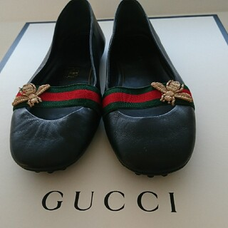 Gucci - GUCCIグッチ  フラットシューズ