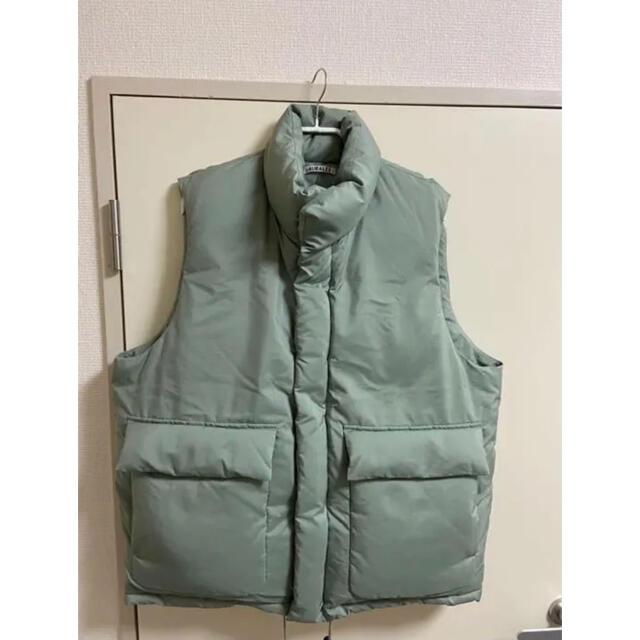 AURALEE 19AW ダウンベスト ライトグリーン オーラリー メンズのジャケット/アウター(ダウンベスト)の商品写真