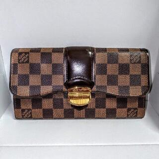 LOUIS VUITTON - 【正規品】良品 ルイヴィトン ダミエ ポルトフォイユ システィナ N61747