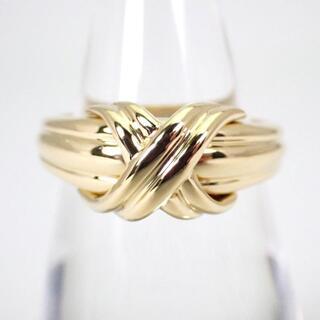 Tiffany & Co. - ティファニー 750 シグネチャー リング 12号[g387-1]