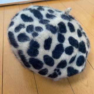 アンゴラ ベレー帽