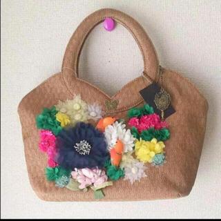 ANNA SUI - 新品 アナスイ   立体飾り付き カラフル ハンドバッグ