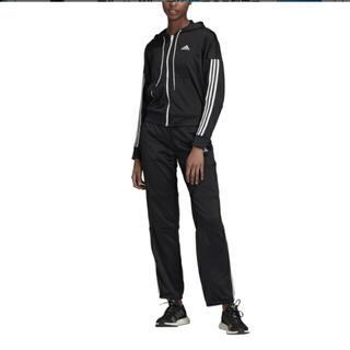 アディダス(adidas)のアディダス レディース ジャージ上下セット Wトラックスーツ サイズLL(トレーニング用品)