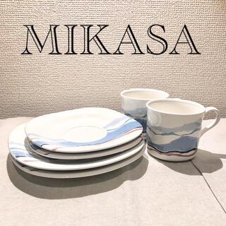 ミカサ(MIKASA)のMIKASA ヴィンテージ マグ&プレート(食器)