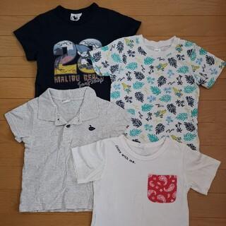 アカチャンホンポ(アカチャンホンポ)のTシャツ 4枚セット 110cm(Tシャツ/カットソー)
