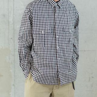 PORTER - Porter Classic ロールアップシャツ トリコロール