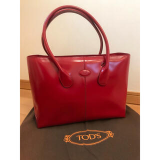 TOD'S - トッズ  トートバッグ 赤