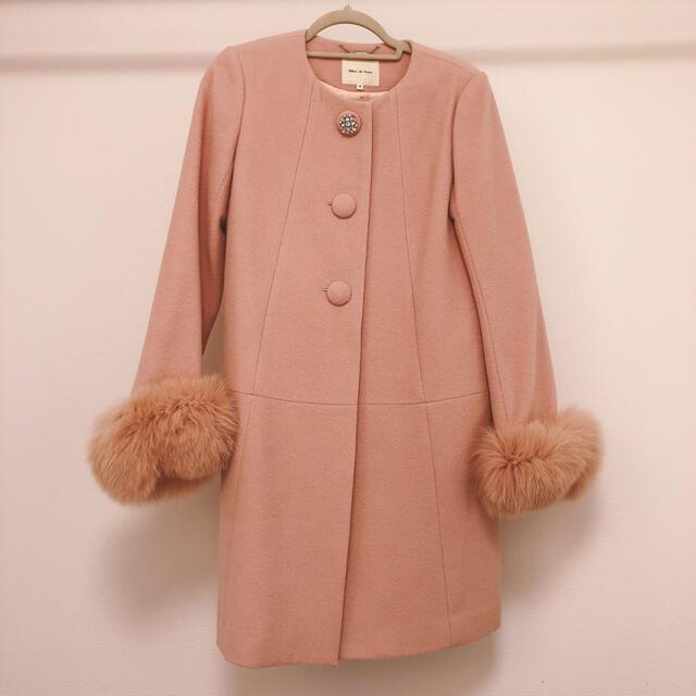 Debut de Fiore(デビュードフィオレ)のDebut de Fiore 美品 さえこさんコート レディースのジャケット/アウター(ロングコート)の商品写真