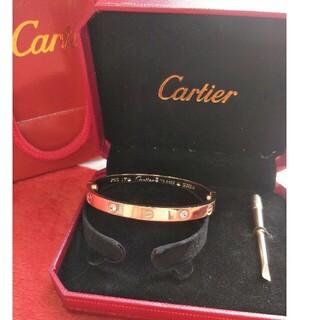 Cartier - ♬期間限定値下げ♬!美品カルティエCartier ブレスレット 17cm