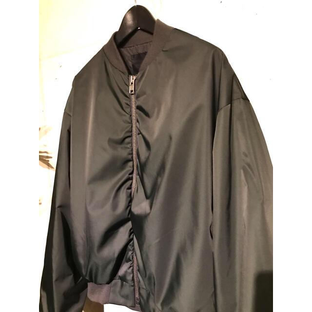 LAD MUSICIAN(ラッドミュージシャン)のほぼ新品19aw LAD MUSICIAN MA-1  42 メンズのジャケット/アウター(ブルゾン)の商品写真