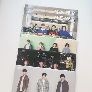 ニュース(NEWS)のNEWS 会報 No.32.33.34.35(アイドルグッズ)