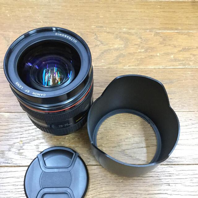 Canon(キヤノン)のジャンクCanonキャノンズームEF28-70f2.8L USMの出品です スマホ/家電/カメラのカメラ(レンズ(ズーム))の商品写真