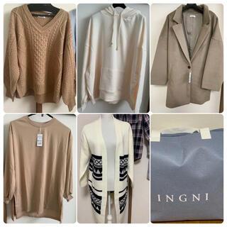 INGNI - 2021 INGNI 福袋 コート パーカー ニット ロンT トップス イング