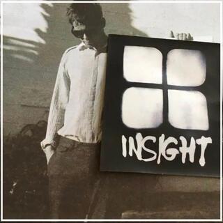 インサイト(INSIGHT)のinsightインサイト US限定 デザインアイコン white ステッカー(サーフィン)