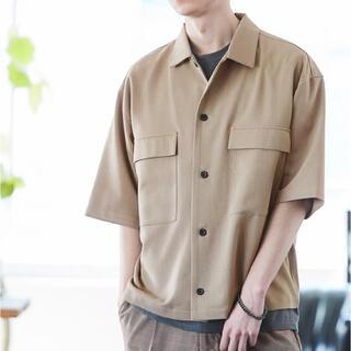 ステュディオス(STUDIOUS)のMONO-MART TRストレッチ スーツ地  半袖CPOシャツ(シャツ)