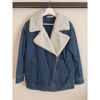 グレイル(GRL)のジャケット アウター(デニム×ファー)(Gジャン/デニムジャケット)