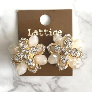 Lily Brown - lattice     イヤリング☺︎❤︎ビンテージ ビンテージイヤリング