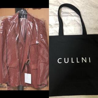 ステュディオス(STUDIOUS)の【新品未使用タグ付き】CULLNI(クルニ)タイロッケンジャケット&トートバッグ(テーラードジャケット)