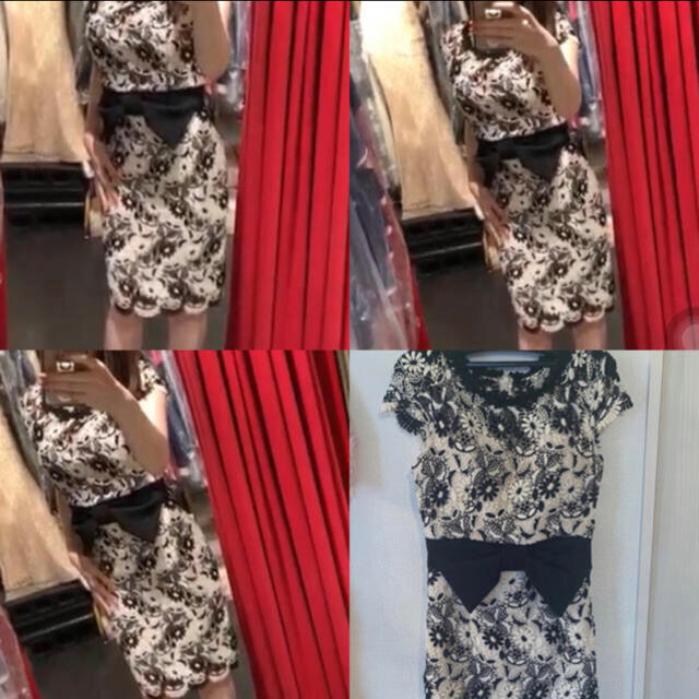 Andy(アンディ)のandy レースタイトドレス レディースのフォーマル/ドレス(ナイトドレス)の商品写真