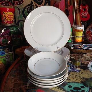 昭和レトロ takiichi china ディナープレート サラダボウル(食器)