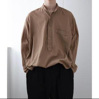 COMOLI - comoli コモリ 20SS ベタシャンプルオーバーシャツ