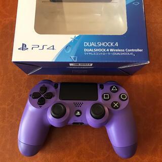 PlayStation4 - 【ジャンク品】PS4 純正コントローラー パープル