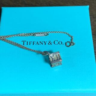ティファニー(Tiffany & Co.)のティファニー キューブネックレス 訳あり(ネックレス)