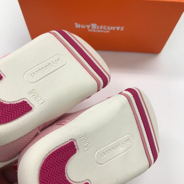 HOT BISCUITS(ホットビスケッツ)の『新品』ミキハウスHBセカンドシューズ13cm キッズ/ベビー/マタニティのベビー靴/シューズ(~14cm)(スニーカー)の商品写真