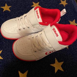 gravis - キッズ スニーカー gravis 18cm 上靴
